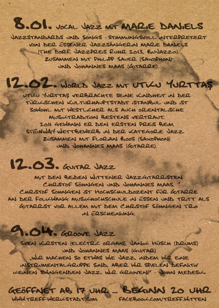 Jazz Café Programm